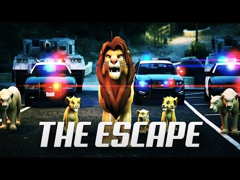 THE ESCAPE PLAN | Cinematic Movie (EPIC VIDEO LIONS ESCAPING FROM ARMY)