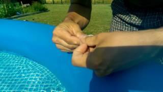 Lepení bazénu