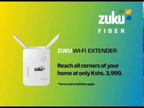 Zuku Fiber Wifi Extender Youtube