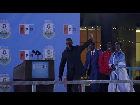 Rwanda : Paul Kagame en passe d'être réélu