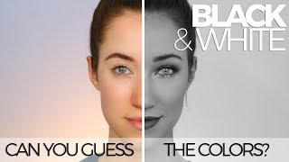 BLACK & WHITE MAKEUP CHALLENGE   ORIGINAL   ALLIE G BEAUTY
