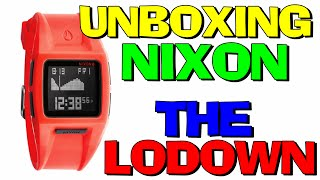 Unboxing Relogio N!x0n TI-Ie L0d0wn Aliexpress (PT-BR) HD