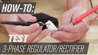 How To Test A 3 Phase Regulator Rectifier