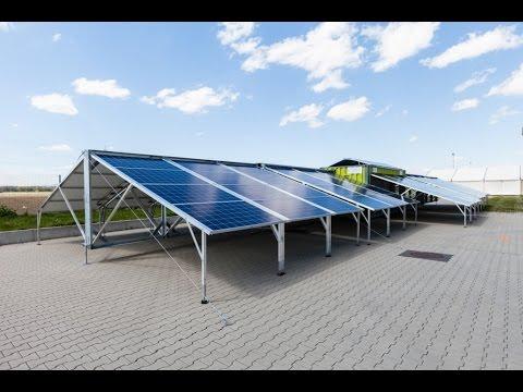 Solar-Container - MOBILE SOLAR PLANT
