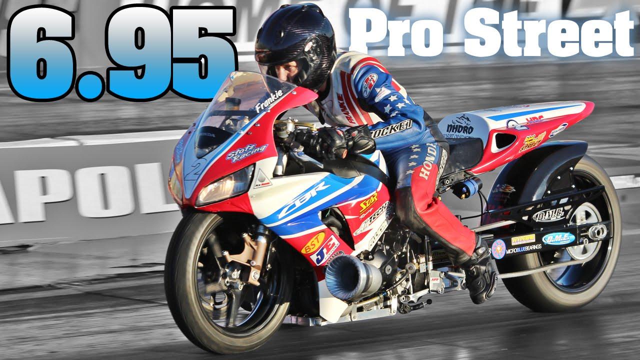 6 95 Pro Street Motorcycle Frankie Stotz Turbo Honda Cbr 1000rr