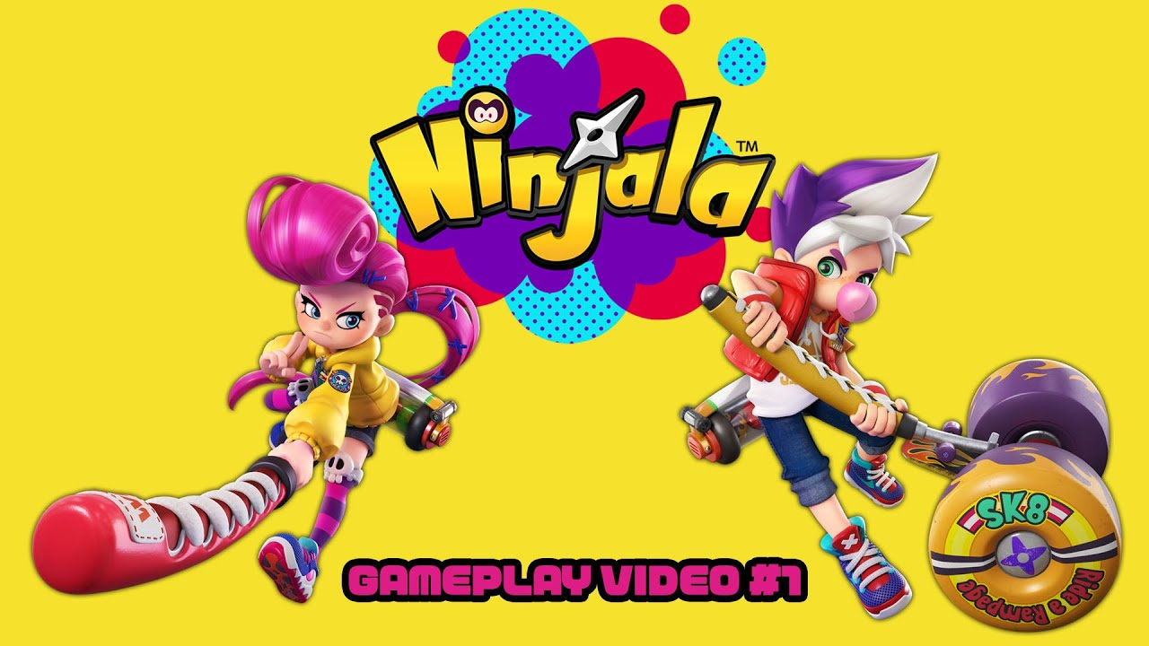 Ninjala - Gameplay Trailer #1