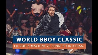 Lil Zoo & Machine VS Sunni & Kid Karam - Finał WORLD BBOY CLASSIC 2018