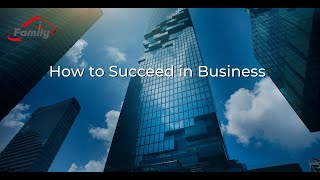 How To Succeed In Business - Dr. K. N. Jacob