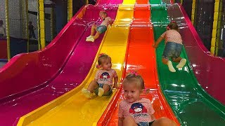🎡 Детская Площадка Funny cute kid Indoor Playground WOW action park for kids & Nursery Rhymes Songs