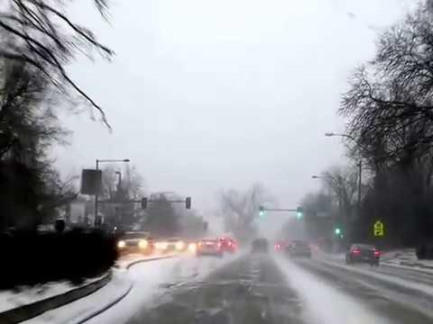 Snowing in Denver Colorado #1