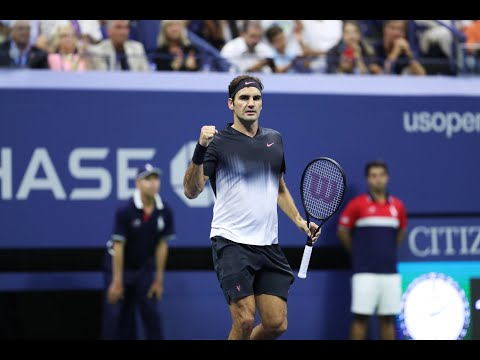 2017 US Open: Federer Defeats Kohlschreiber In Straight Sets