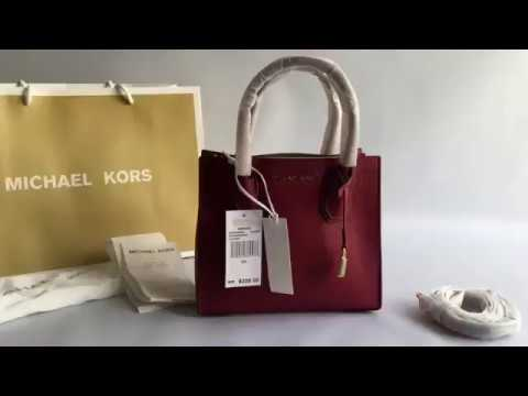 606dd71c2909 Сумка MICHAEL KORS STUDIO Mercer Leather Crossbody - YouTube