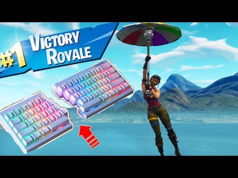 THE BEST HALF KEYBOARD TO PLAY FORTNITE! (ONLY $40)