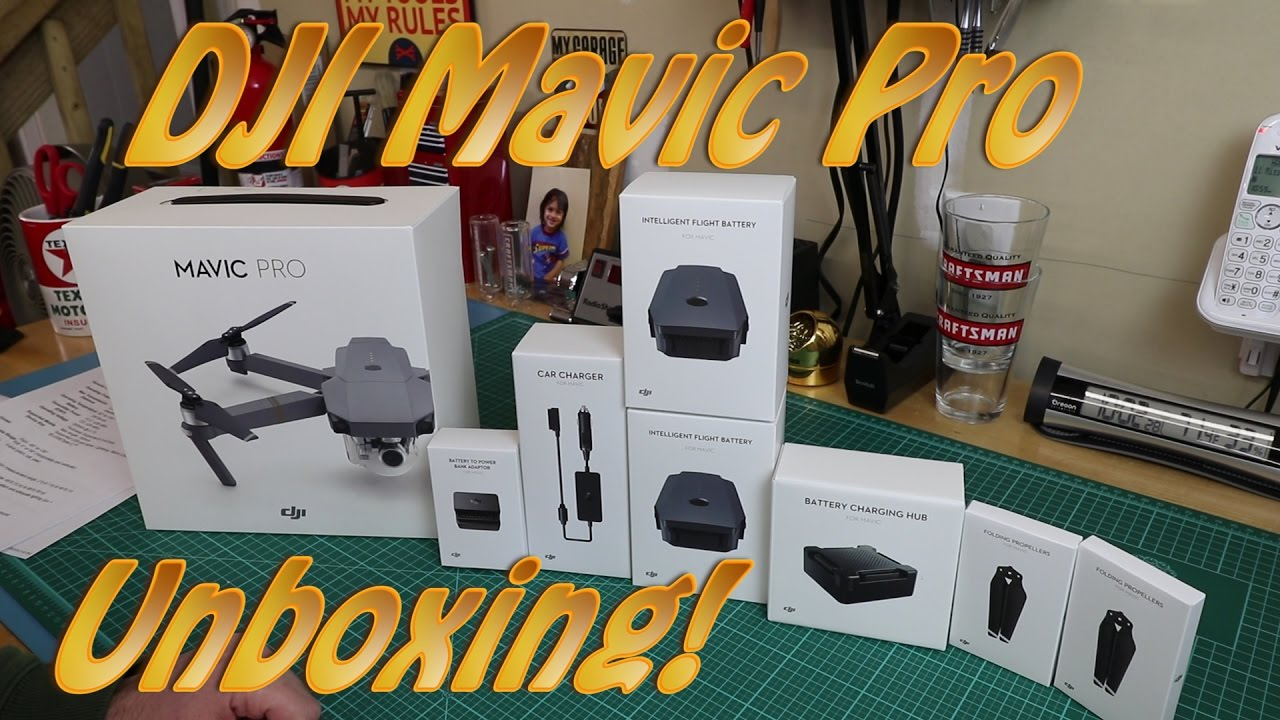 dji mavic pro fly more combo unboxing b h youtube. Black Bedroom Furniture Sets. Home Design Ideas