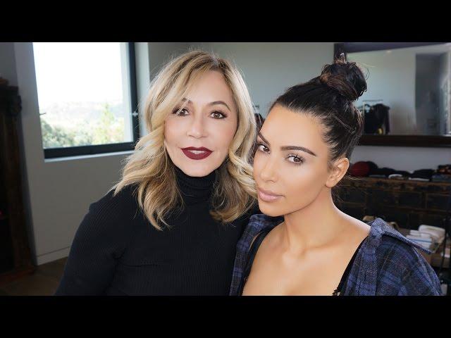 Kim Kardashians Epic Eyebrow Fail All 4 Women
