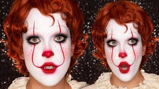 CUTE PENNYWISE / Chatty Halloween Tutorial | Day 26 of 31 Days of Halloween
