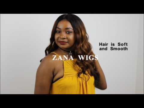 how to style ombre human hair wigs