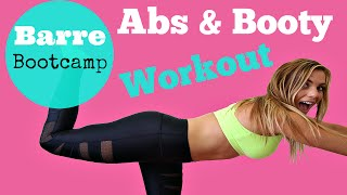 Abs & Booty Workout | Barre Bootcamp