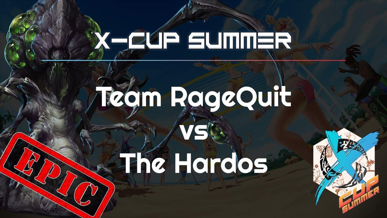 EPIC: Hardos vs. RageQuit - X Cup Summer - Heroes of the Storm