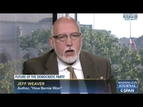 Bernie Sanders Presidential Campaign Manager Jeff Weaver Answers C-SPAN Caller Questions
