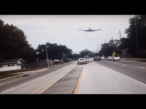 Thumbnail: Dash-cam Captures Plane Crash in Clearwater, Florida Highway - November 19, 2017