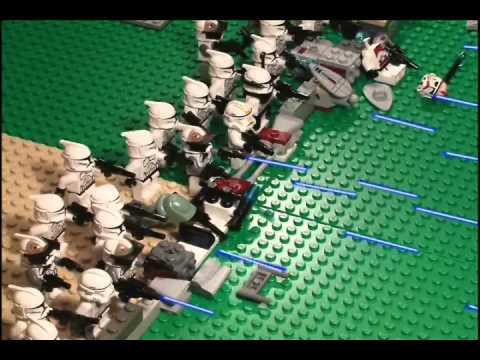 Lego star wars battle part 1 youtube - Croiseur interstellaire star wars lego ...