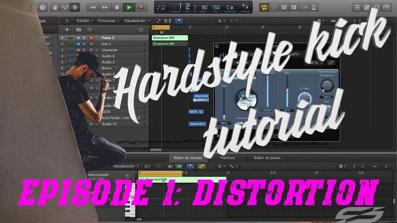 Hardstyle Kick Tutorial by Solstice Ep1: Let's Distort a 909!