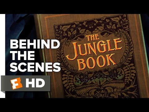 The Jungle Book Behind the Scenes - The Book (2016) - Disney Movie
