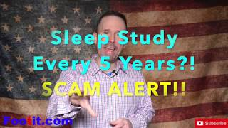 5 Year Sleep Study for CPAP Resupply is a SCAM FRAUD Medicare Insurance Advice Help Apnea  Supply