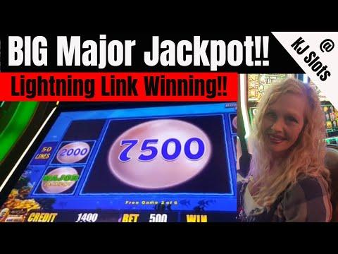 BIG Major Jackpot - Lightning Link