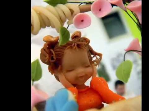 I Love Cake Design Fiorella : cake design with yasmina baouia - YouTube