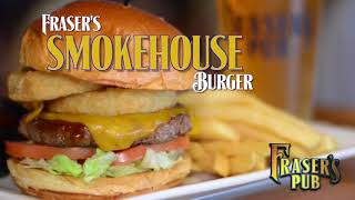 Fraser's Pub   Smokehouse Burger