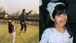 Akshay Kumar Flying Kite With CUTE Daughter Nitara At House Rooftop on Makarsankranti wid Family