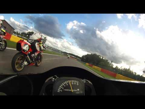 2016 Bikers Classic Spa le mans style start and first lap
