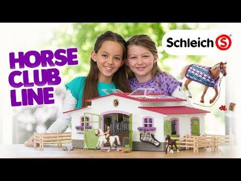 Schleich's Horse Club Line!   A Toy Insider Play x Play