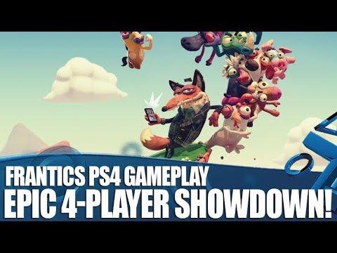 Frantics El Nuevo Y Alocado Juego De Playlink Para Ps4 Playstation 4