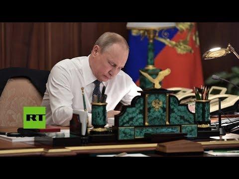 Desde dentro: Así es el despacho presidencial de Vladímir Putin