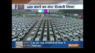 Surat diamond merchant Savji Dholakia gives away 600 cars to employees as 'Diwali gift'