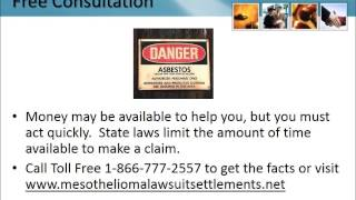 Mesothelioma Lawyer North Canton Ohio 1-866-777-2557 Asbestos Lung Cancer Lawsuit OH Attorneys
