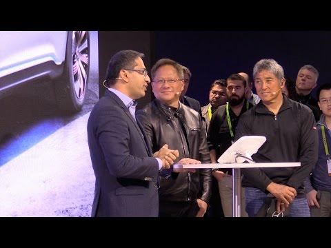 """Mercedes-Benz Inspiration Talk """"Artificial Intelligent"""" with Jen-Hsun Huang"""