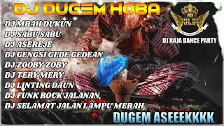 DJ MBAH DUKUN VS DJ SABU SABU NONSTOP DUGEM FUNKOT MIXTAPE 2020