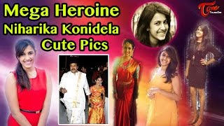 Mega Heroine Niharika Konidela Cute Pics Collection