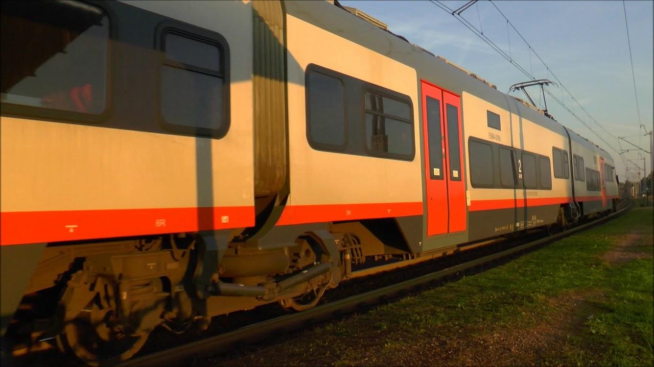 Dwa Pociągi w Szczepanowicach