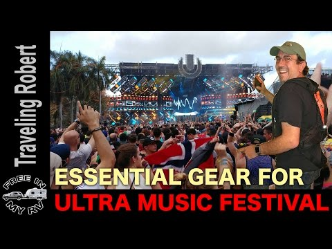 Essential Music Festival Gear - Product Review