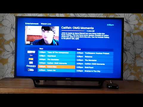 Can you watch live TV on NOW TV?