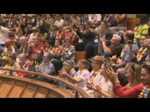 Hawaii Senate votes to legalise same-sex marriage