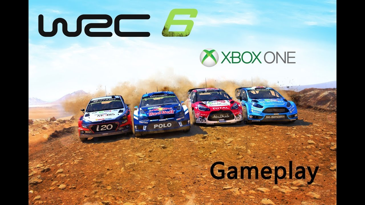 wrc 6 xbox one gameplay neste oil rally finnland adac. Black Bedroom Furniture Sets. Home Design Ideas