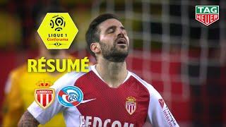 AS Monaco - RC Strasbourg Alsace ( 1-5 ) - Résumé - (ASM - RCSA) / 2018-19