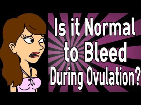 is-it-normal-to-bleed-during-ovulation?