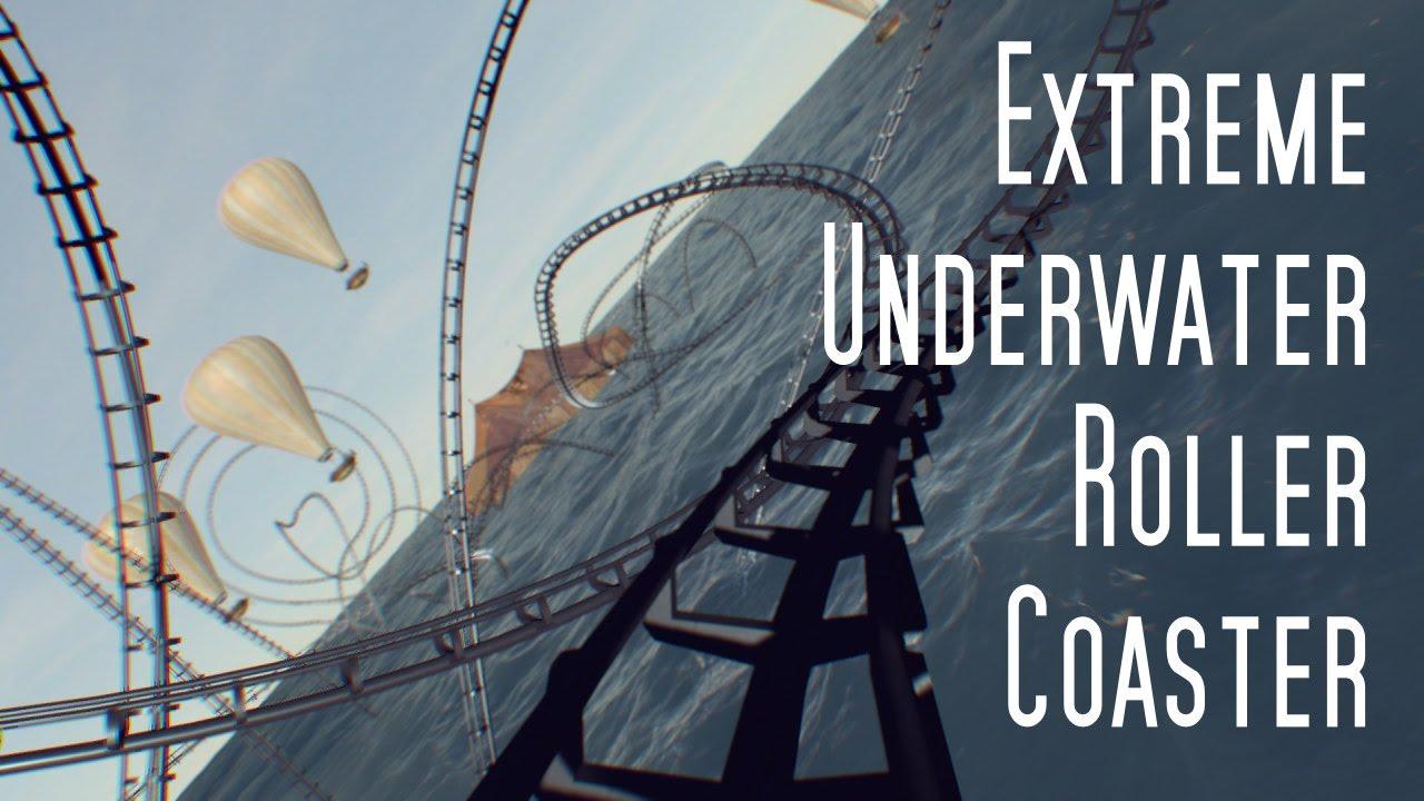 Extreme Underwater Roller Coaster - YouTube